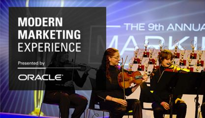 Oracle Modern Marketing Experience